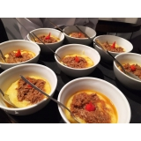 buffet de evento empresarial preço Santana