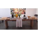buffet para brunch valores Santana de Parnaíba