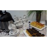 buffet para evento empresarial preço Higienópolis