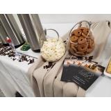 quanto custa buffet de evento empresarial Freguesia do Ó