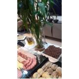 valor de buffet para brunch Bela Cintra
